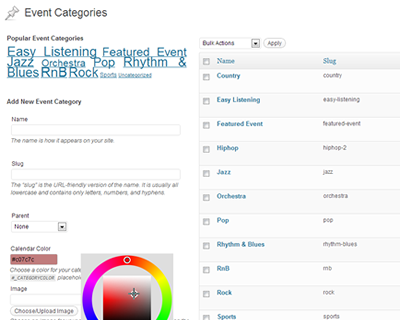 Color-coded categories, category images and more using the power of WordPress custom taxonomies.