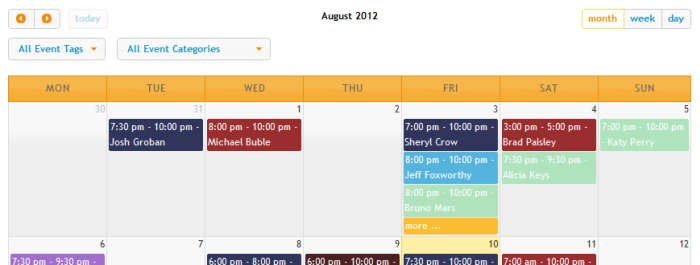 Using event calendars events manager for wordpress click saigontimesfo